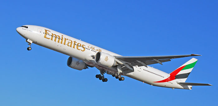 Emirates Airline plane