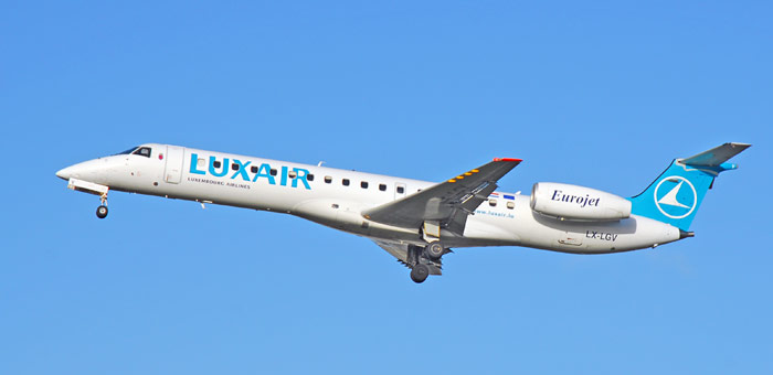 Luxair plane