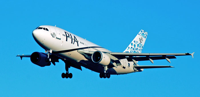 Pakistan International Airlines - PIA plane