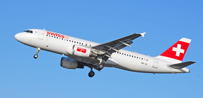 Swiss International Air Lines plane